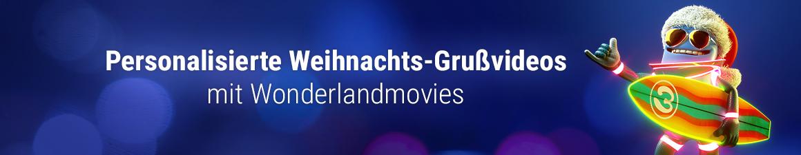 Weihnachtsgrüße Personalisiert.Wonderlandmovies Video Personalisierung Personalized Video